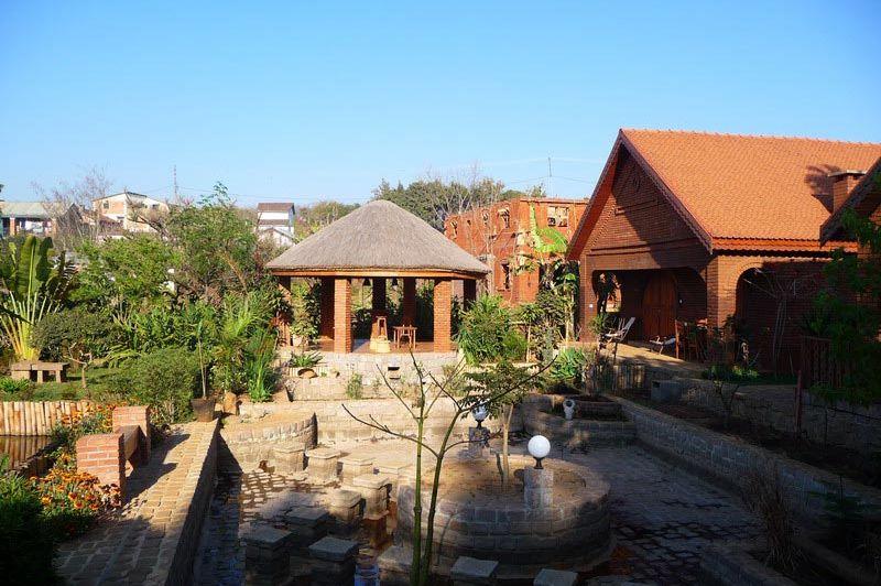 tuin - Chambres du Voyageur - Antsirabe - Madagaskar