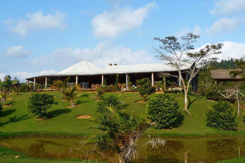 hoofdgebouw - Eulophiella Lodge - Andasibe - Madagaskar