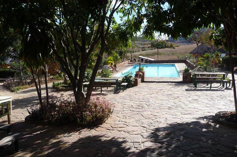 zwembad - Isalo Ranch - Isalo N.P. - Madagaskar