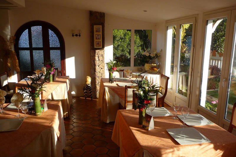 restaurant - Residence Camelia - Antsirabe - Madagaskar