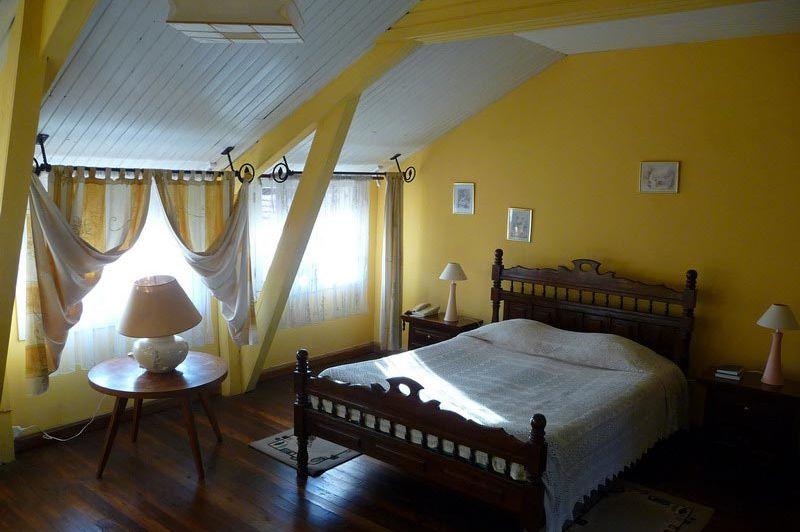 kamer geel - Residence Camelia - Antsirabe - Madagaskar