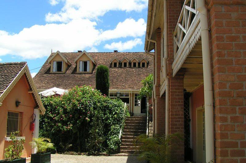 buitenkant - Tsara Guest House - Fianarantsoa - Madagaskar