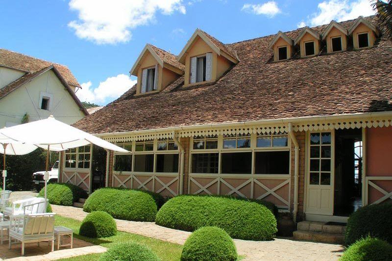 restaurant - Tsara Guest House - Fianarantsoa - Madagaskar
