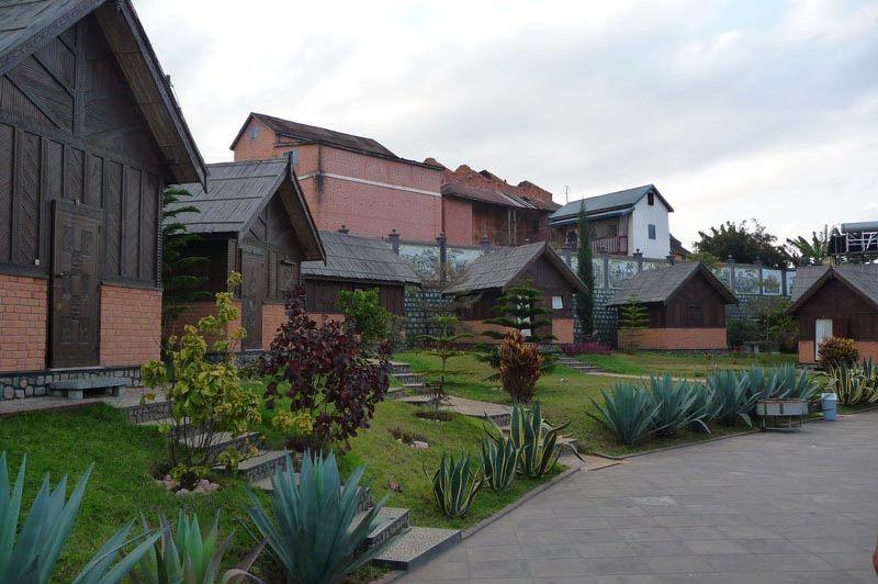 kamer - Hotel L'Artisan - Ambositra - Madagaskar