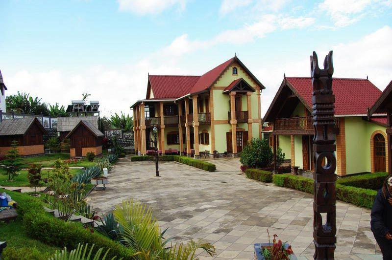 overzicht kamerstypen - Hotel L'Artisan - Ambositra - Madagaskar