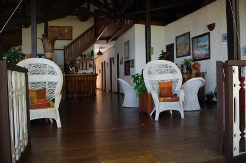 lobby - Chez Gerard et Francine - Nosy Be - Madagaskar