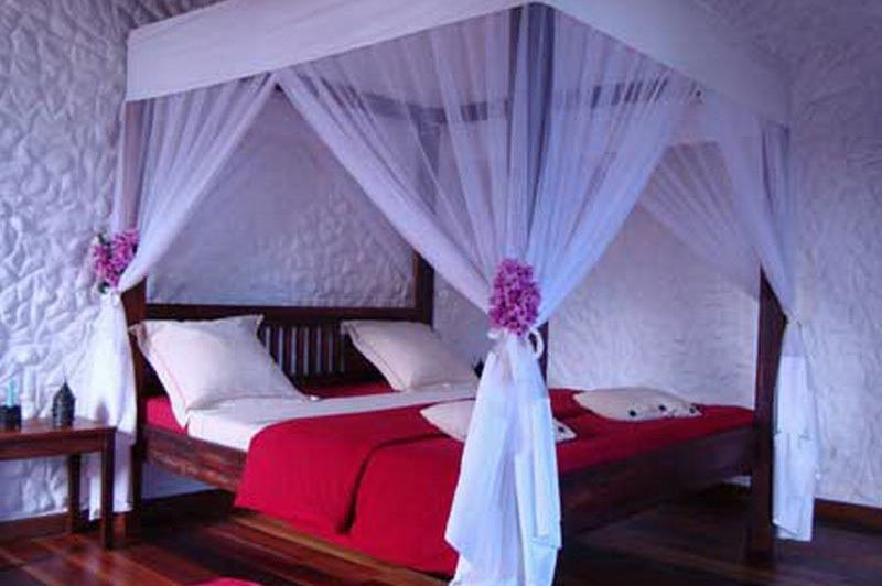 hotelkamer - The Litchi Tree - Joffreville - Madagaskar