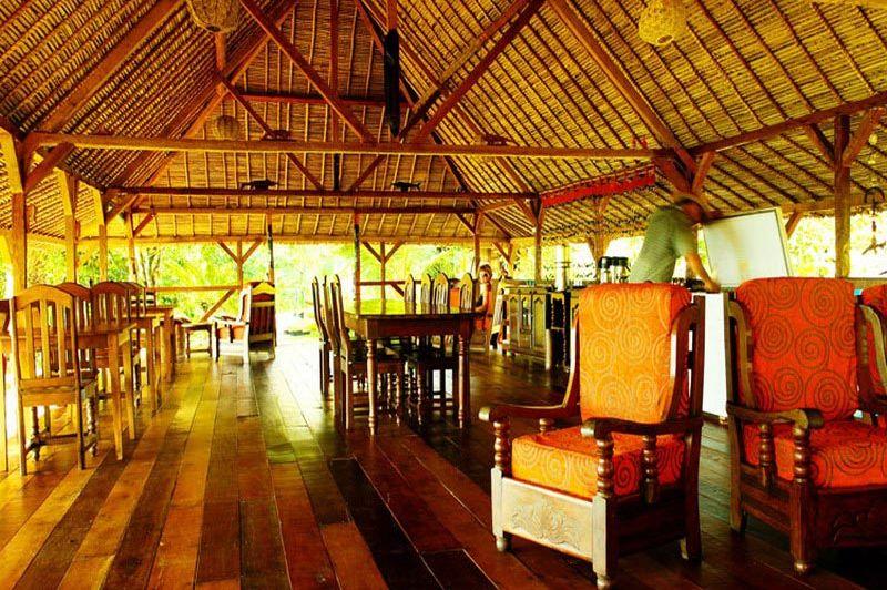Lounge in de Masoala Forest Lodge - Masoala Forest Lodge - Madagaskar