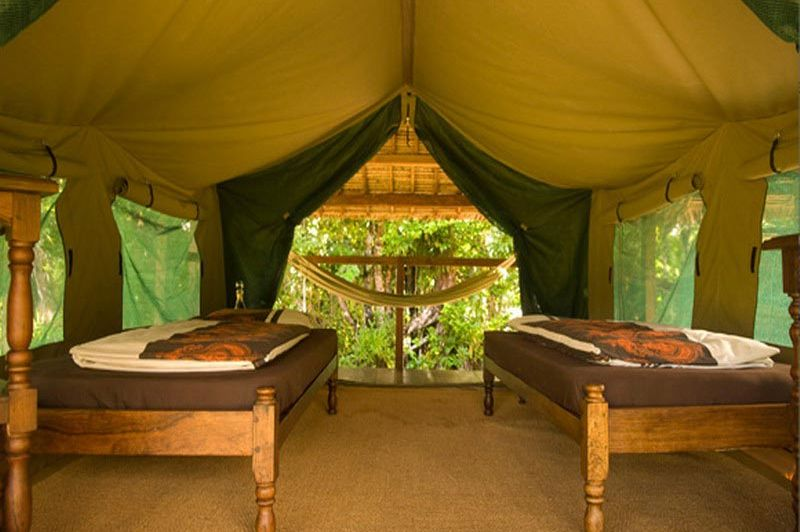 Kamer in de Masoala Forest Lodge - Masoala Forest Lodge - Madagaskar