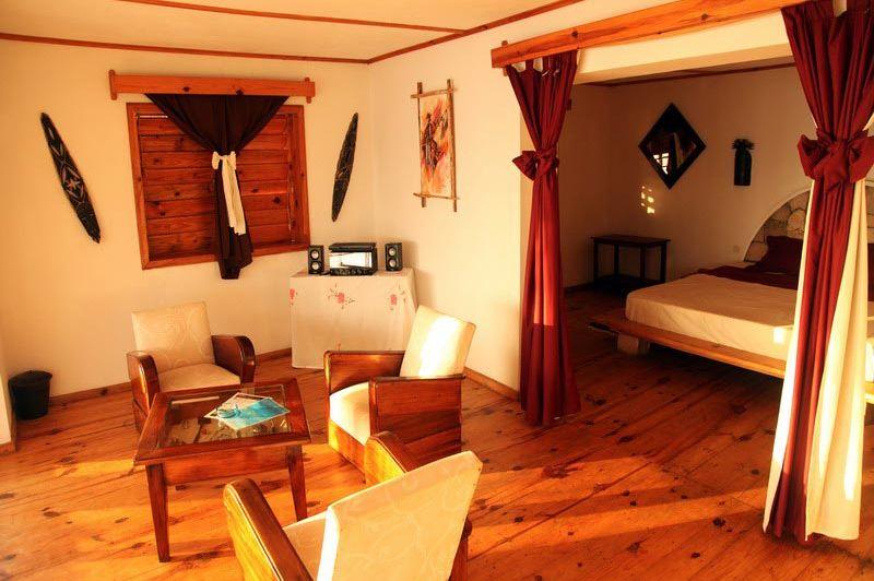 ruime bungalow - Ankasy Lodge - Madagaskar - foto: lokaal agent