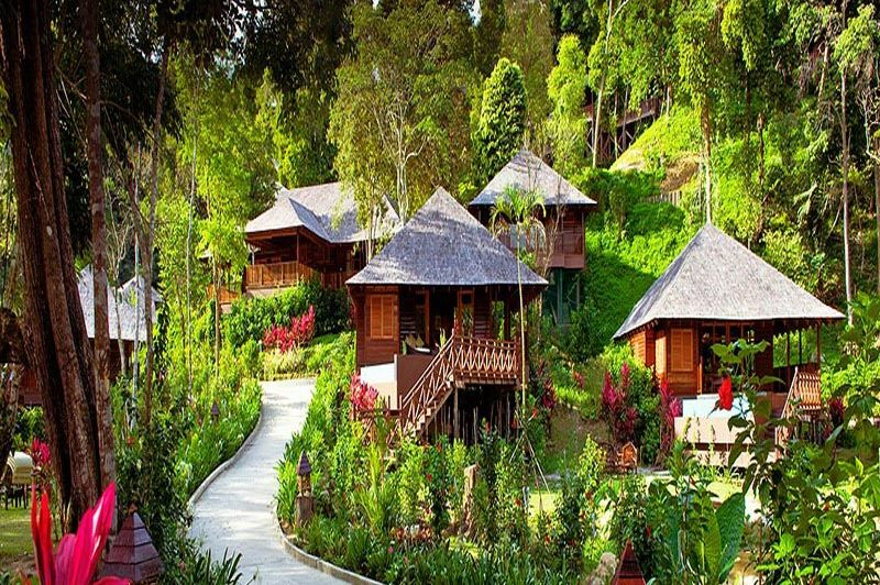 buiten - Bunga Raya Resort - Bunga Raya Kota Kinabalu - Maleisië