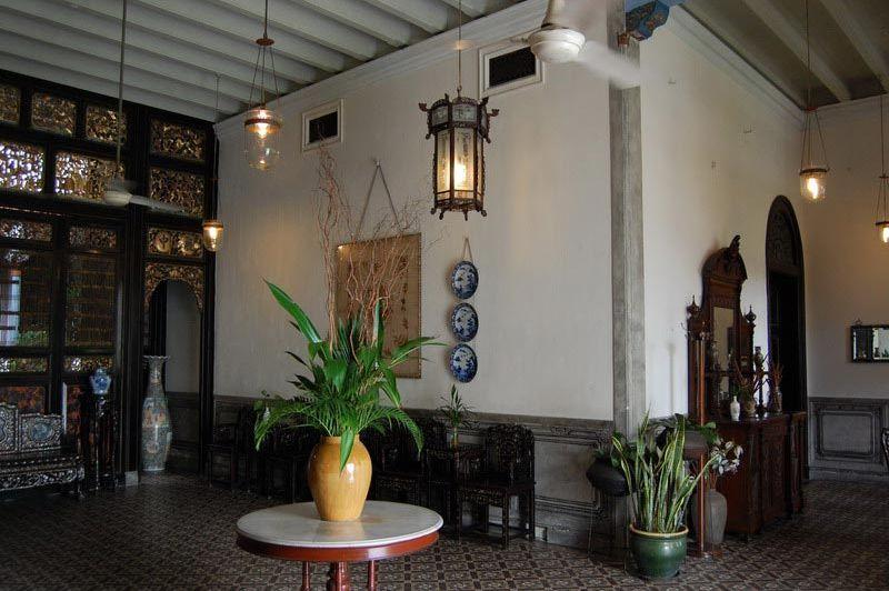 binnenplaats - Cheong Fatt Tze Mansion - Penang Georgetown - Maleisië