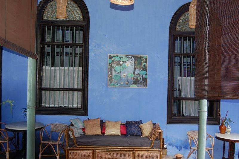 lounge - Cheong Fatt Tze Mansion - Penang Georgetown - Maleisië