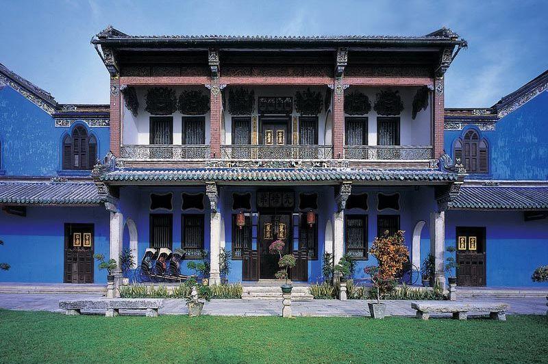 vooraanzicht - Cheong Fatt Tze Mansion - Penang Georgetown - Maleisië