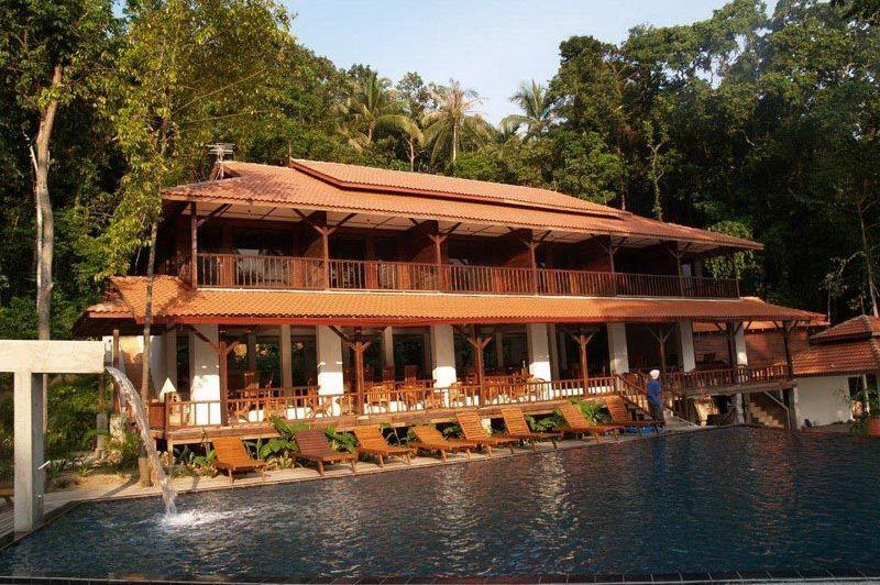 zwembad - D'Çocunut Lagoon - Lang Tengah - Maleisië