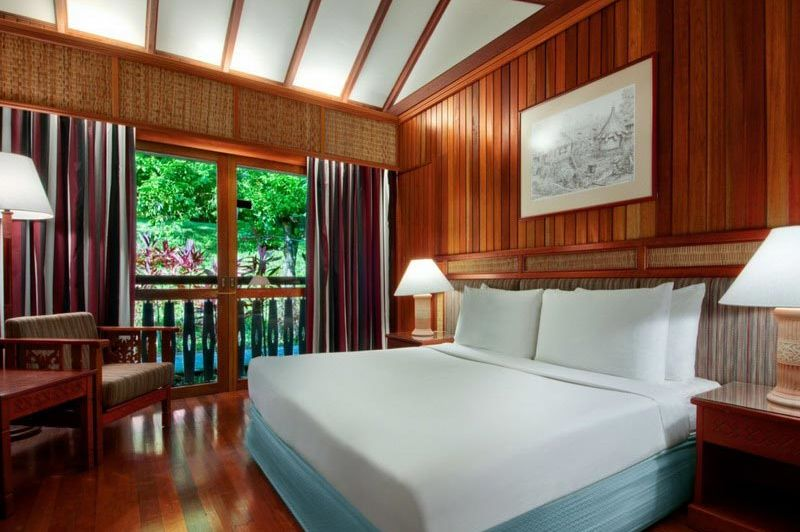 kamer - Batang Ai Longhouse Resort - Batang Ai - Maleisië