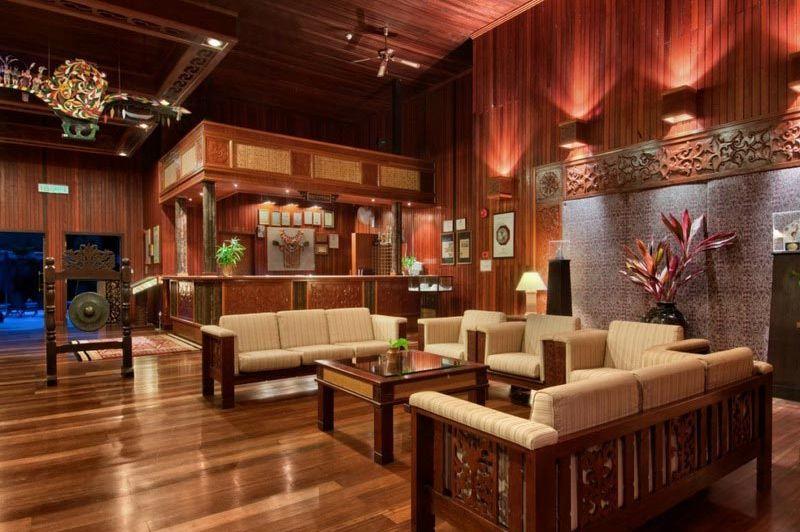 lobby - Batang Ai Longhouse Resort - Batang Ai - Maleisië