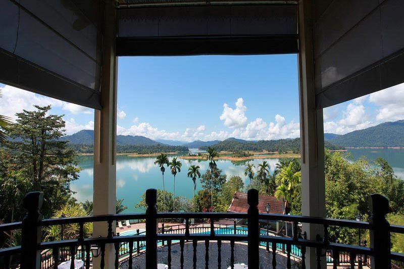 uitzicht - Lake Kenyir Resort & Spa - Lake Kenyir - Maleisië