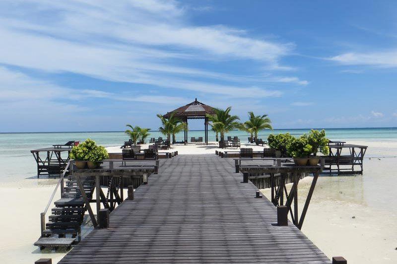 strand Sipadan Kapalai Dive Resort - Sipadan Kapalai Dive Resort - Maleisië