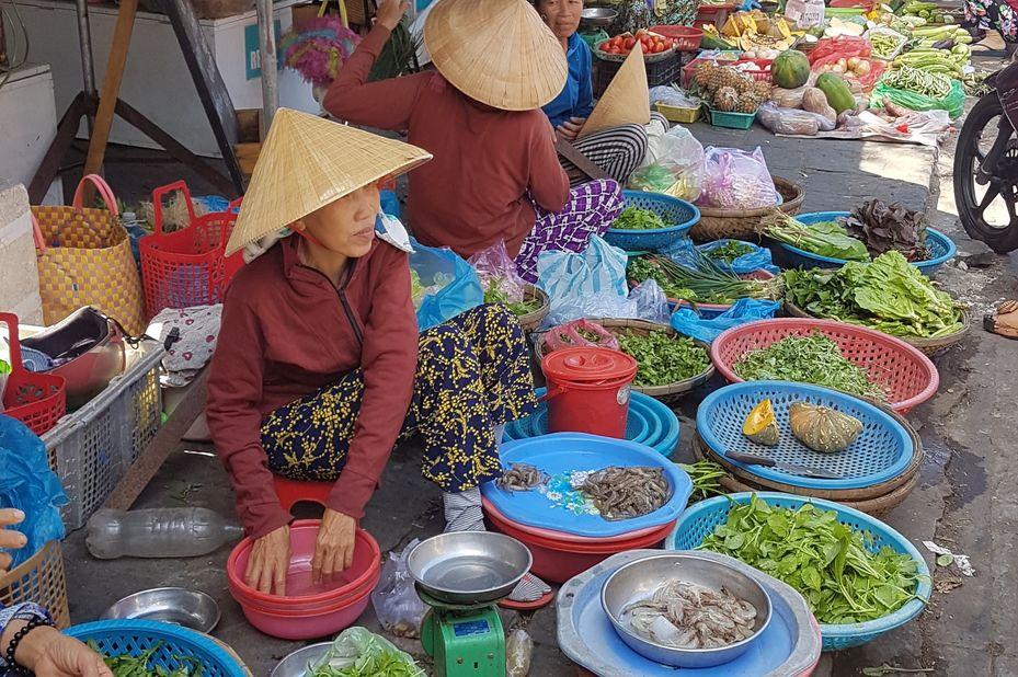 Lokale markt in Vietnam (klantfoto) - foto: klantreactie