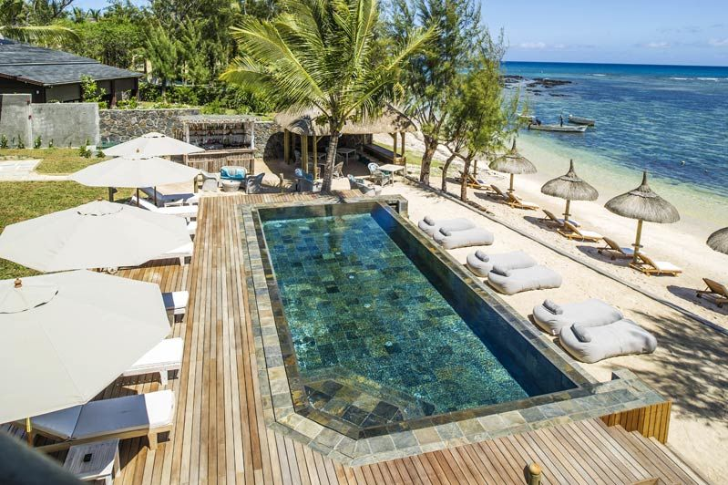 Seapoint Boutique Hotel, zwembad - Mauritius - foto: lokale agent