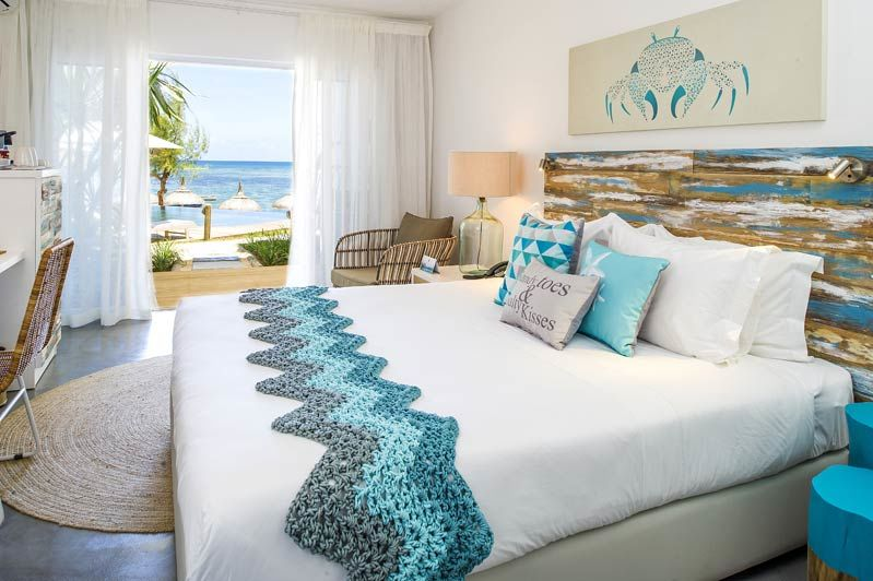 Seapoint Boutique Hotel, tweepersoonskamer - Mauritius - foto: lokale agent