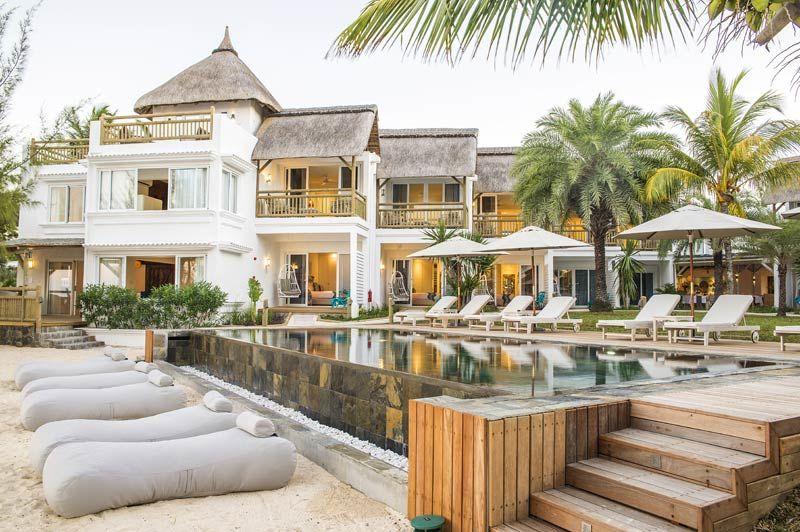 Seapoint Boutique Hotel, buitenaanzicht - Mauritius - foto: lokale agent