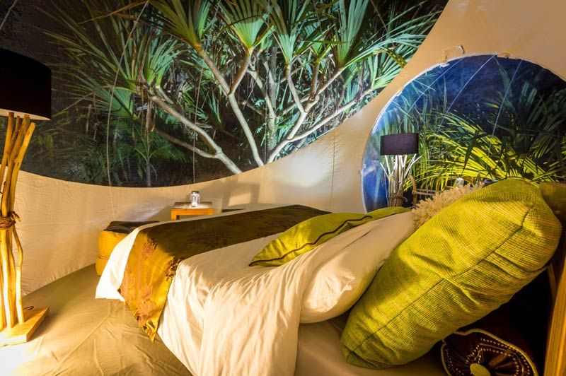 The Bubble Lodge, slaapkamer (1) - The Bubble Lodge - Mauritius - foto: The Bubble Lodge