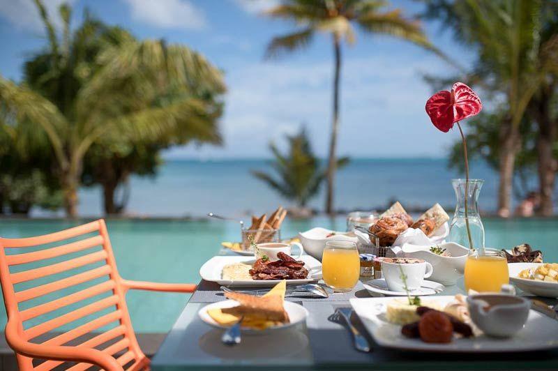Mystik Life Style Hotel, ontbijt - Mystik Life Style Hotel - Mauritius - foto: Mystik Life Style Hotel