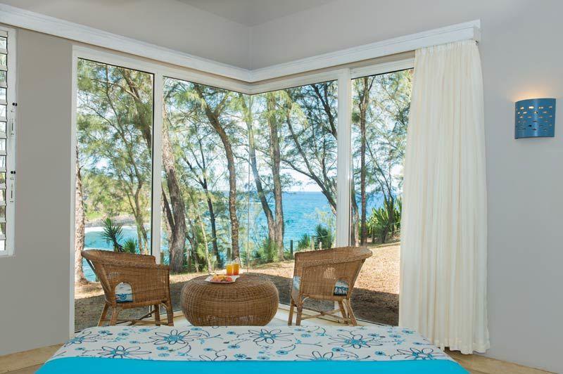 kamer met uitzicht op de oceaan, Andrea Lodge - Andrea Lodge - Mauritius - foto: Andrea Lodge