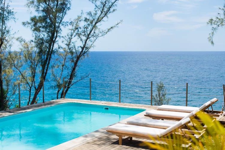 zwembad van Andrea Lodge - Andrea Lodge - Mauritius - foto: Andrea Lodge