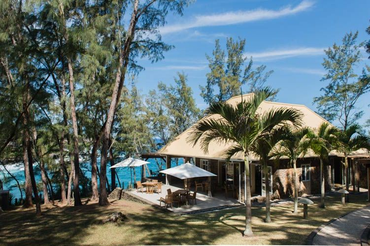 restaurant en bar van Andrea Lodge (2) - Andrea Lodge - Mauritius - foto: Andrea Lodge