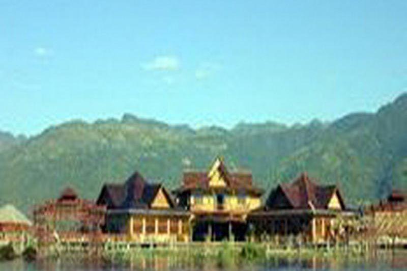 restaurant - Paradise Inle Resort - Inle Lake - Myanmar