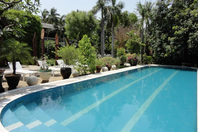 zwembad Emerald Land Inn - Emerald Land Inn - Myanmar