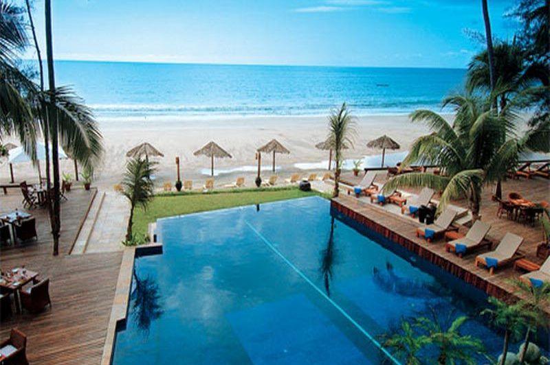 zwembad - Amata Resort - Ngapali Beach - Myanmar