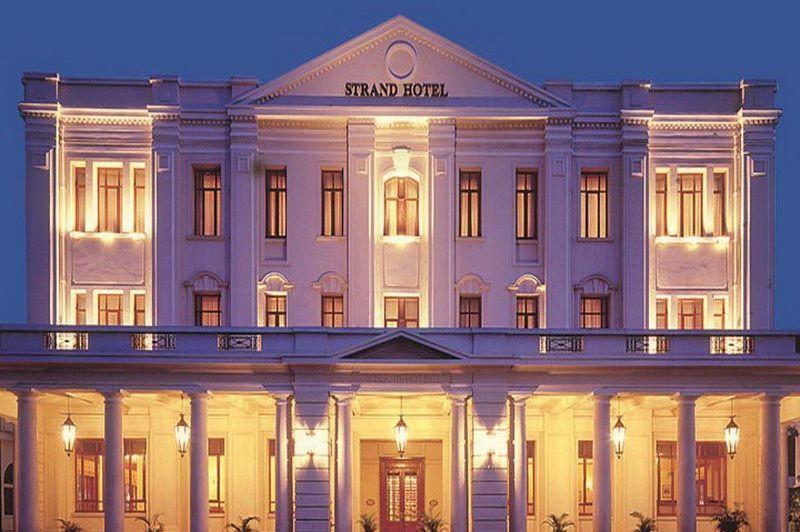 vooraanzicht The Strand Hotel - The Strand Hotel - Myanmar