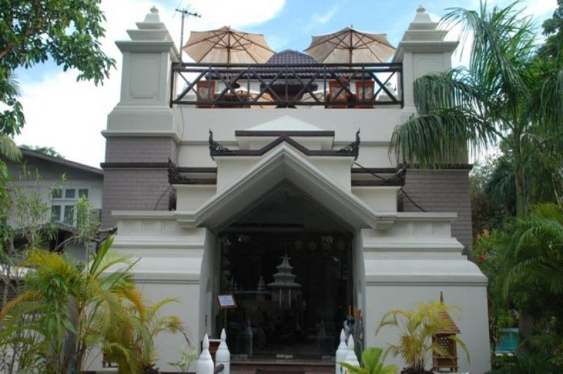 vooraanzicht Shwe Taung Tarn Hotel - Shwen Taung Tarn Hotel - Myanmar