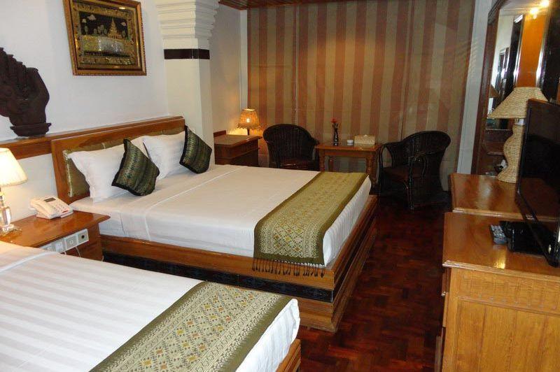 kamer Shwe Taung Tarn Hotel - Shwen Taung Tarn Hotel - Myanmar - foto: Floor Ebbers