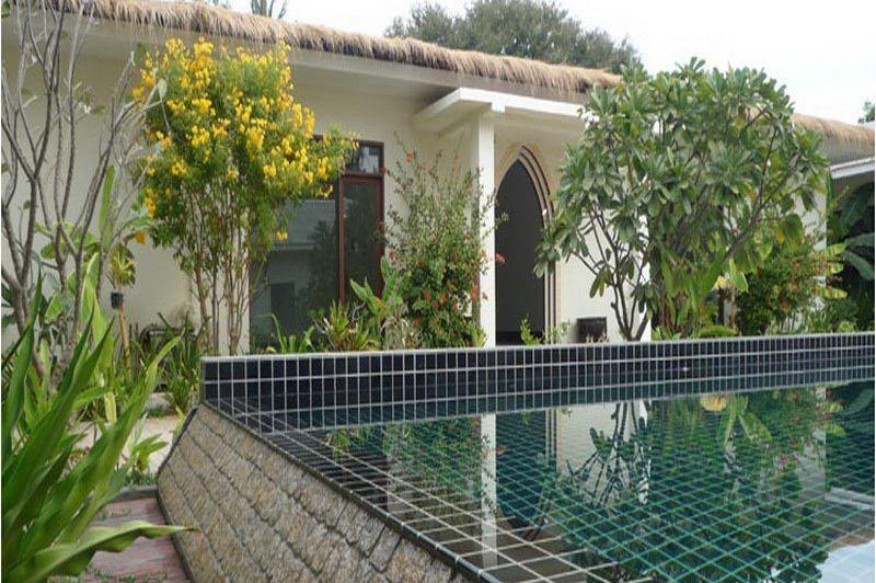 vooraanzicht Blue Bird Hotel - Blue Bird Hotel - Myanmar