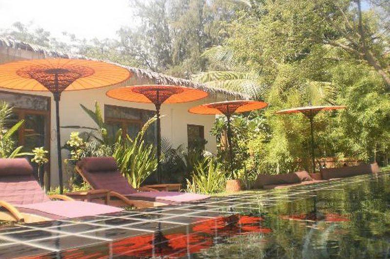 zwembad Blue Bird Hotel - Blue Bird Hotel - Myanmar