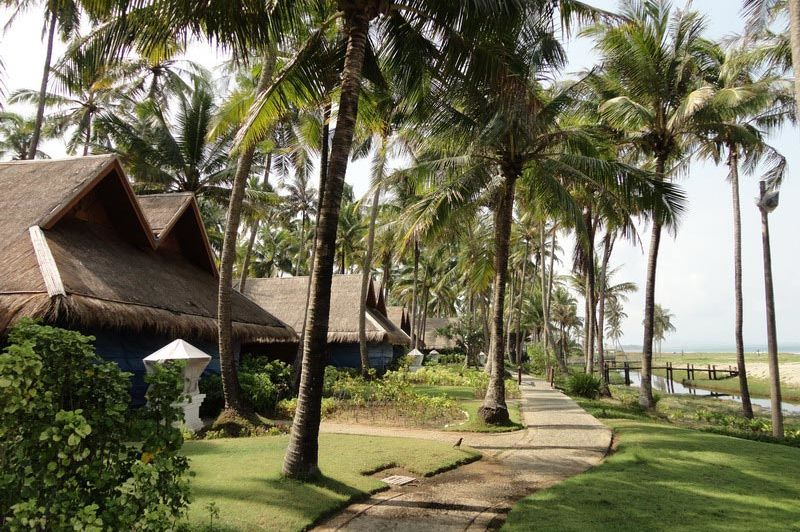 bungalow Sunny Paradise Resort - Sunny Paradise Resort - Myanmar - foto: Floor Ebbers