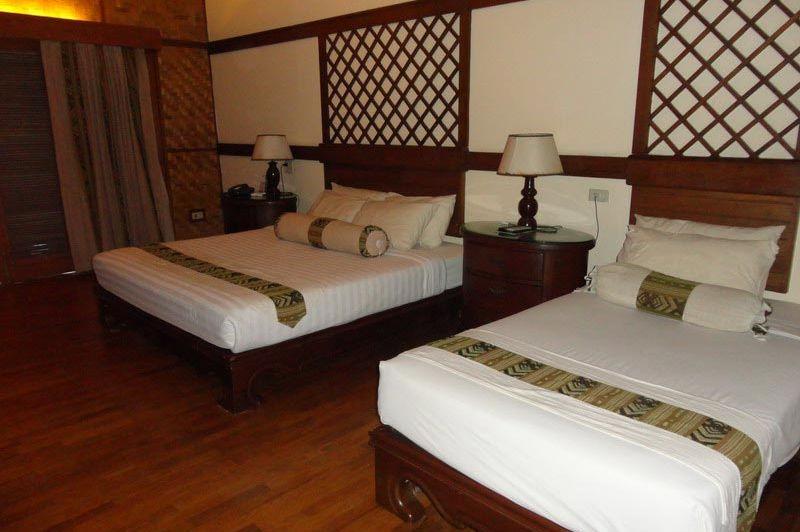 kamer Sunny Paradise Resort - Sunny Paradise Resort - Myanmar - foto: Floor Ebbers