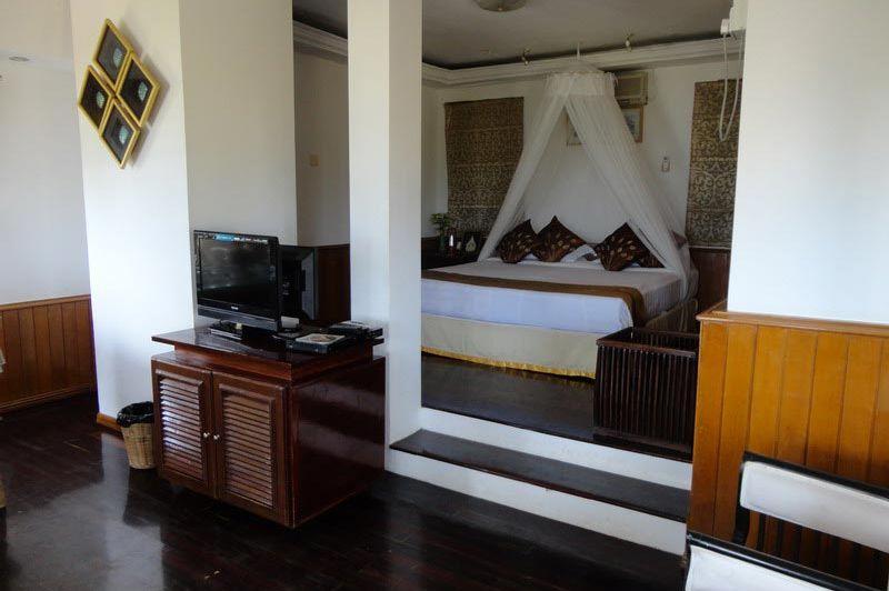 kamer Emerald Sea Resort - Emerald Sea Resort - Myanmar - foto: Floor Ebbers