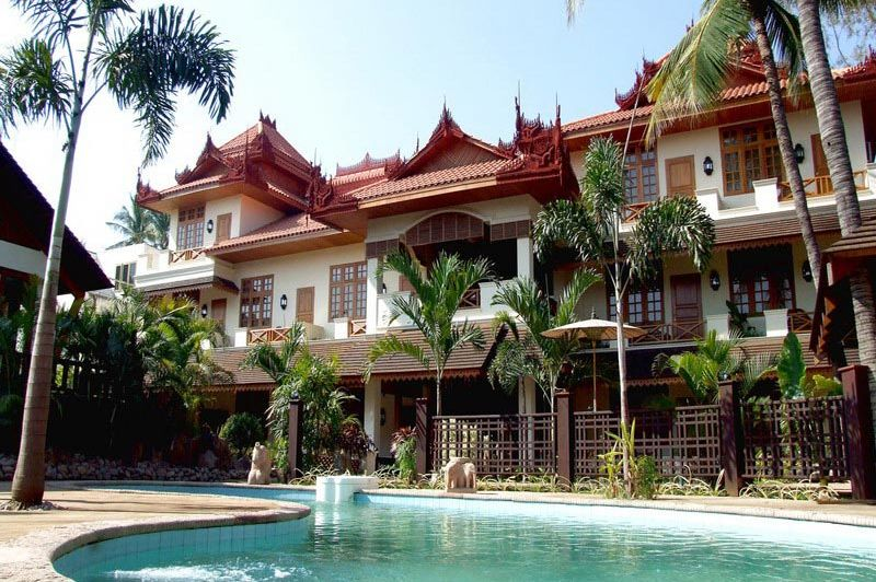 zwembad Hotel by the Red Canal - Hotel by the Red Canal - Myanmar