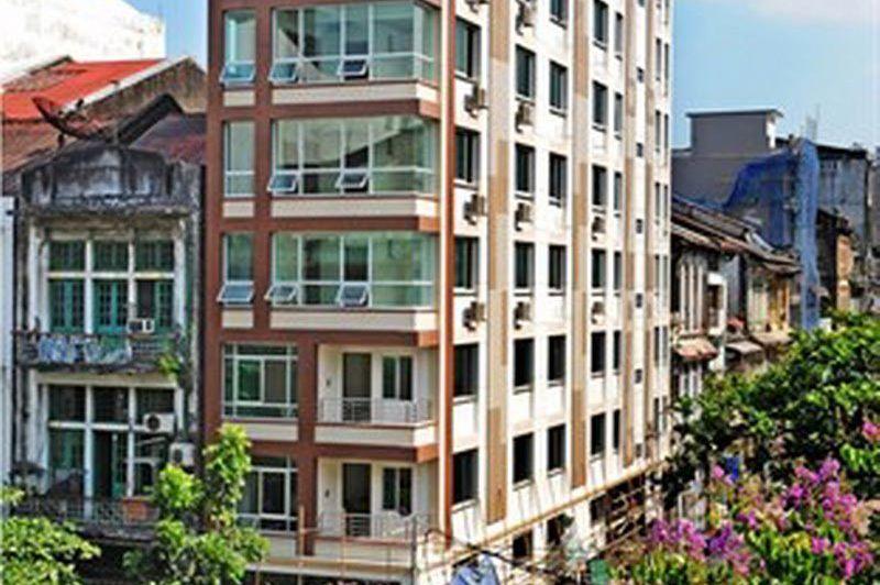 hotel exterior - Hotel Grand United Chinatown - Hotel Grand United Chinatown Yangon - Myanmar