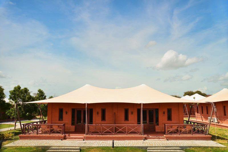 tented rooms Bagan Lodge - Bagan Lodge - Myanmar
