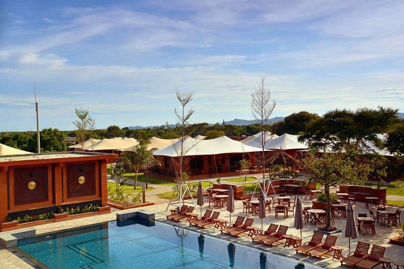 zwembad Bagan Lodge - Bagan Lodge - Myanmar