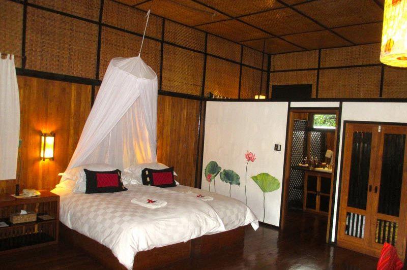 Inle Princess Resort kamer - Inle Princess Resort - Myanmar - foto: Loes Sanderink