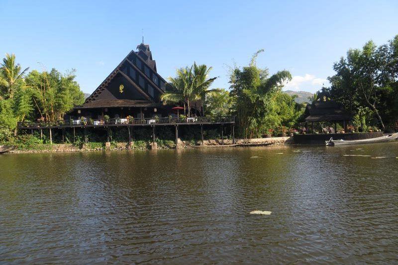 Inle Princess Resort - Inle Princess Resort - Myanmar - foto: Loes Sanderink