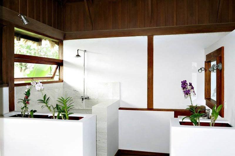 Badkamer van La Maison Birmane in Burma - La Maison Birmane - Myanmar - foto: La Maison Birmane